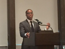 Pulitzer Prize-winning journalist Jonathan Capehart gave the keynote address.