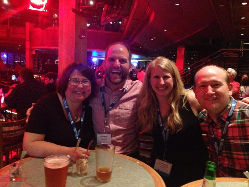 4/5 of the MN Delegation: Anna Pratt, Ben Garvin, Sarah Bauer & Jonathan Kealing