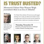 SPJ's Pulitzer panel will include Minnesota Pulitzer Prize winners